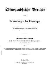 Stenographische Berichte über die Verhandlungen: Ausgabe 4