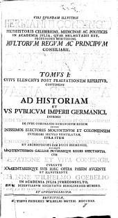 Varia scripta ad historiam et ivs pvblicvm Imperii germanici ... spectantia ... cvm praefatione et vita Conringii