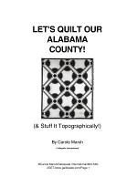Let's Quilt Our Alabama County