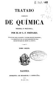 Tratado completo de química teórica y práctica: Volumen 6