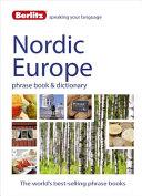 Berlitz Language: Nordic Europe Phrase Book and Dictionary