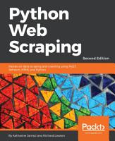 Python Web Scraping PDF