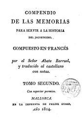 Compendio de las memorias para servir a la historia del Jacobinismo