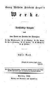 Georg Wilhelm Friedrich Hegel's Grundlinien der Philosophie des Rechts: oder, Naturrecht und Staatswissenschaft im Grundrisse