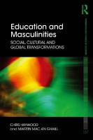 Education and Masculinities PDF