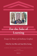 For the Sake of Learning (2 vols)