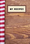 My Recipes PDF