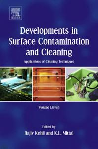 Developments in Surface Contamination and Cleaning  Applications of Cleaning Techniques