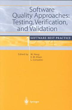 Software Quality Approaches  Testing  Verification  and Validation PDF