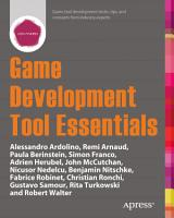 Game Development Tool Essentials PDF