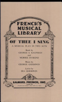 Of Thee I Sing PDF