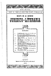 Revista de la Sociedad juridico-literaria: Volumen 6