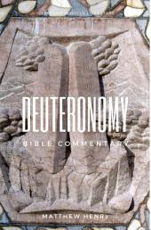 Deuteronomy - Complete Bible Commentary Verse by Verse