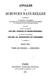 Annales des sciences naturelles: Volume 4