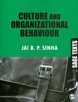 Culture and Organizational Behaviour PDF