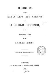 Memoirs of the early life and service of a field officer [D. Price] on the retired list of the Indian army
