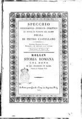Specchio geografico-storico-politico di tutte le nazioni del globo susseguito dal dizionario geografico universale ... Pietro Castellano: Volume 3