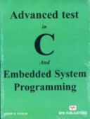 Advanced Test In C And Embedded System Programming Book PDF