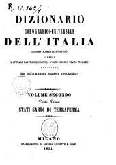 Dizionario corografico-universale dell'Italia sistematicamente suddiviso secondo l'attuale partizione politica d'ogni singolo Stato italiano