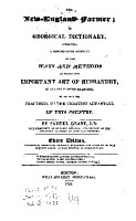 The New England Farmer PDF