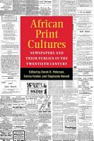 African Print Cultures