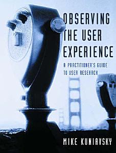 Observing the User Experience PDF