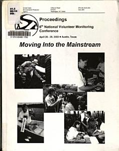 Sixth Volunteer Monitoring Conference  April  2000  Austin  Texas PDF