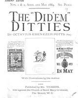 The  Did em  ditties  Exigency ed PDF