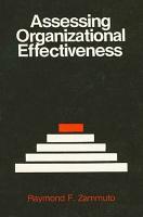 Assessing Organizational Effectiveness PDF
