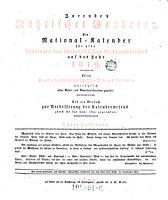 Jurende s M  hrischer Wanderer  Ein National Kaelnder f  r alle Provinzen des Kaiserstaates Oesterreich PDF