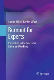 Burnout for Experts