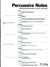Percussive Notes PDF