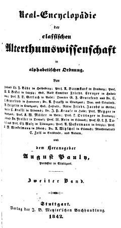 Real encyclop  die der classischen alterthumswissenschaft    PDF