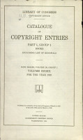 Catalog of Copyright Entries  New Series PDF