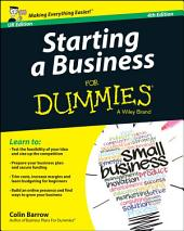 Starting a Business For Dummies - UK: Edition 4