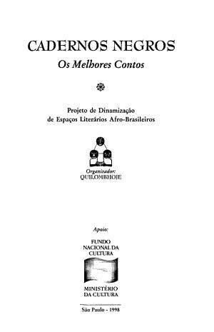 Cadernos negros PDF