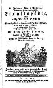 Oeconomische Encyclopädie oder Allgemeines System der Land-, Haus- und Staats-Wirthschaft: in alphabetischer Ordnung, Band 128