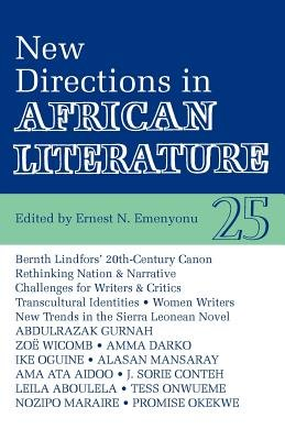 New Directions in African Literature PDF