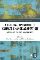A Critical Approach to Climate Change Adaptation PDF