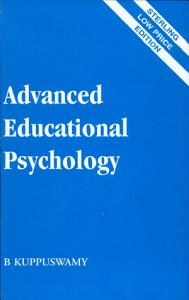 Advanced Educational Psychology Book