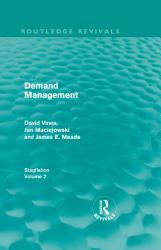 Demand Management  Routledge Revivals  PDF