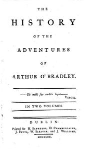 The History of the Adventures of Arthur O'Bradley