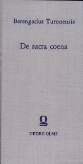 De sacra coena adversus Lanfrancum liber posterior