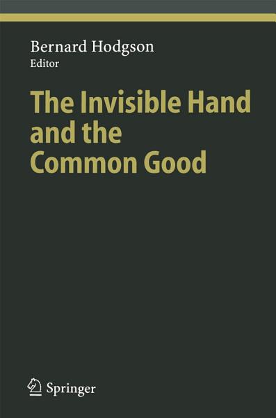 Download The Invisible Hand and the Common Good Book