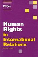 Human Rights in International Relations PDF