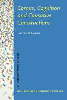 Corpus  Cognition and Causative Constructions PDF
