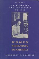 Women Scientists in America PDF