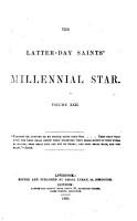 The Latter Day Saints  Millennial Star PDF