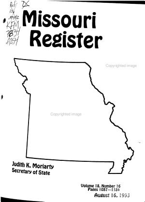 Missouri Register PDF