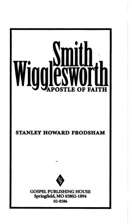 Smith Wigglesworth PDF